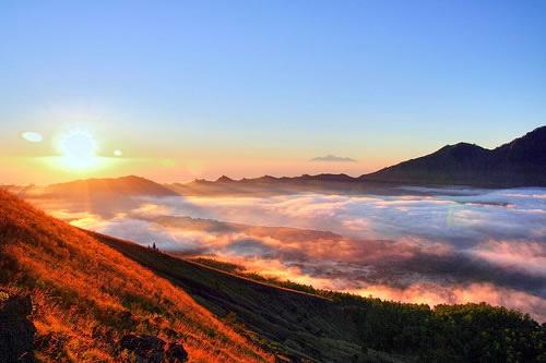 Góra Batur, Bali